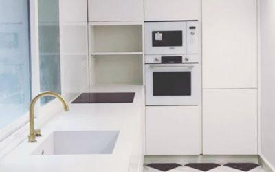Cocinas pequeñas, grandes espacios